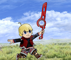 Shulk Chibi by Miltonholmes