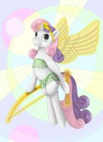 Sweetie Belle, Queen of Shipping by nezudomo
