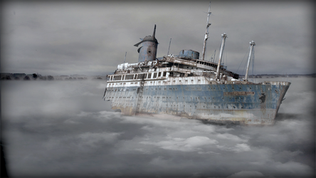 Ghost ship by MikeDastardly
