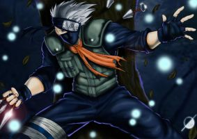 Kakashi by Osmar-Shotgun