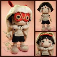 San from Princess Mononoke by pheleon