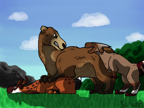 Rough Hunt by Silverwill2002