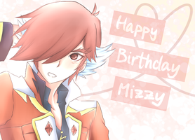 Happy Birthday Mizzy ~ by Melolli-Gotchi