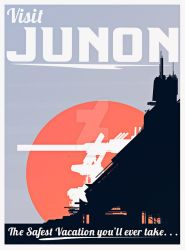Final Fantasy VII - Junon Tourism Poster by ReverendRyu