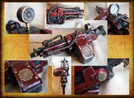Vulcan Steampunked with tubes by KillingjarStudios