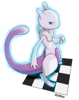 Mewtwo by whonghaiw