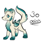 Cute winged doggo - 30 points by PixelsPointAdopts