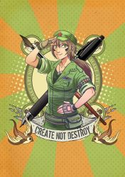 Create not destroy by HenarTorinos