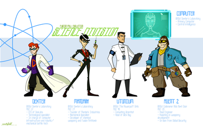 Fusion Fall Evolution: Science Division by Wickfield