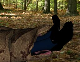 Another snake vore victim 5 by SnakePerils
