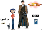 doctor who and coraline crossover preview by soundbreaker1235