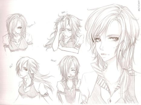 Takeru Facial Expressions by takeru08