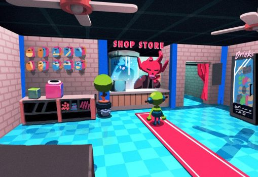 Shopstore concept by IndianaJonas