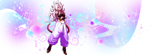 Majin Android 21 by EntemberDesigns