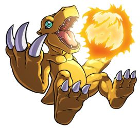 Agumon by Noki001
