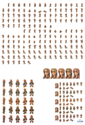 Geomancer Full Sprite Sheet Male by Lijj