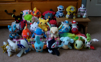 My Pokedoll Collection 3 by Fishlover