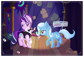 Trixie Approves. by Falldust