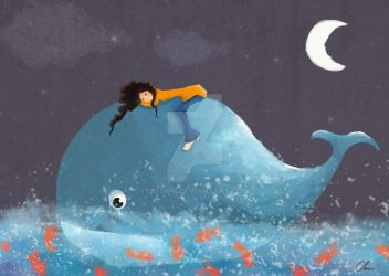 Petite baleine by Ciloon