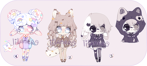 { fluffy adopts   CLOSED } by lilanero