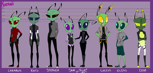 OC Full Lineup by Keeiran