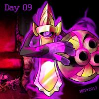 Day 09 - Favorite Ghost Type by Mikoto-Tsuki