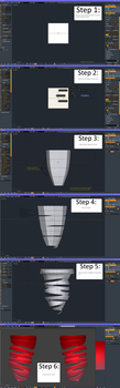 [Blender tutorial] how to make a drill by RageXYZ