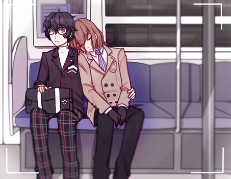 subway ride by remmie19