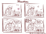 SketchyComix - Page 4: Priorities by Kei-Ivory