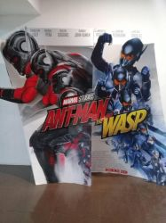 Ant-Man and the Wasp poster standee by thereanimatedunknown