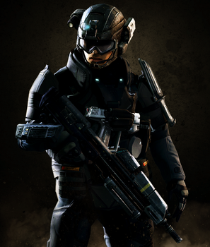 UNSC Army Soldier 6 by LordHayabusa357