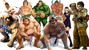 Video Game Archetypes: Sumo Wrestlers by The4thSnake