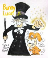 Bunny Luan and Johnny Showtime by komi114