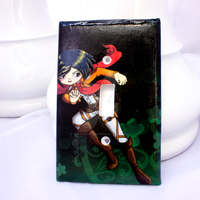 Mikasa Light Switch Cover by thedustyphoenix