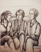 Jek, Althea and Amber by Lalawu29