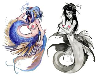 mermaids by Fukari