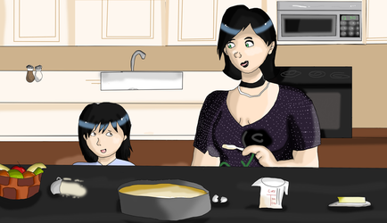 FWP: Baking with Aunt Ivy by RedStars7