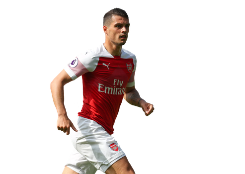 Xhaka Render (Arsenal) by tychorenders
