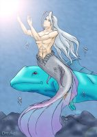 Sephiroth as Mermaid by dresha