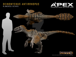 Deinonychus antirrhopus by Herschel-Hoffmeyer