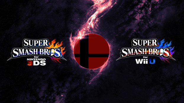TheWolfBunny 6 0 Super Smash Bros Wii U 3DS Logo Wallpaper 54 By