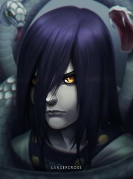 Young Orochimaru by lancercross