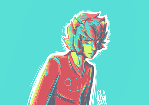 Karkat pallete by Gameaddict1234