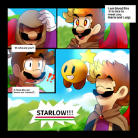 MnL:Cosmic Fire Page 7 by BaconBloodFire