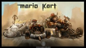 Mad Mario Kart by FASSLAYER