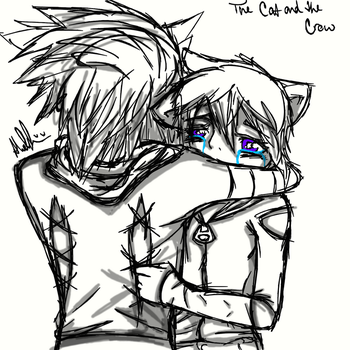 The Cat and the Crow by XxAnimeFreakynessxX