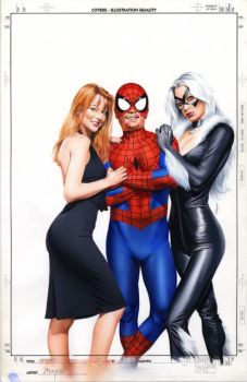 Wizard 154 Cover Painting by mikemayhew