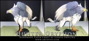 Hunter Gryphon by StrayaObscura