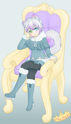 His Tiny Sassy Highness (Commish for RosesOfBlue) by Pastel-Hime