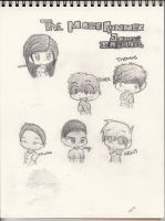 The Maze Runner Characters by Captain-Swan